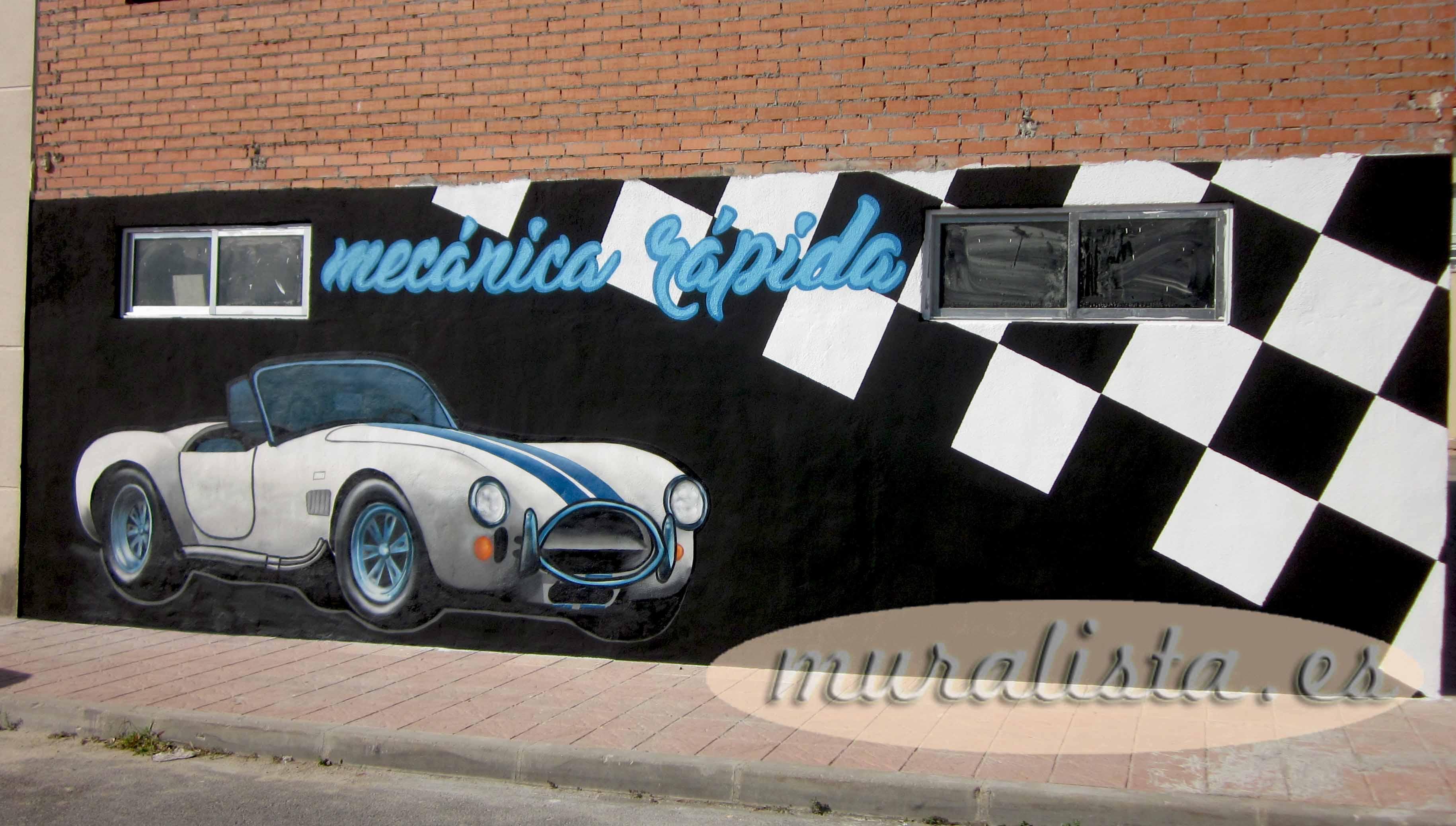 taller mecanico graffiti