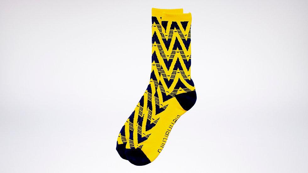 Arsenal Away Retro Socks | 91-93