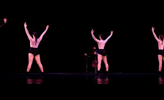 Ballet Northwest & Olympia Symphony Collaboration: Black Stallion (Nick Takenobu Ogawa)  Photo Credit: Ballet Northwest / Julie Alonso; Washington Center for the Performing Arts