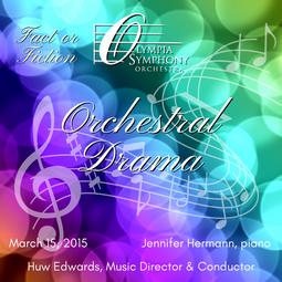 """Orchestral Drama""   March 15, 2015"
