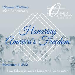 """Honoring America's Freedom""   November 11, 2012"