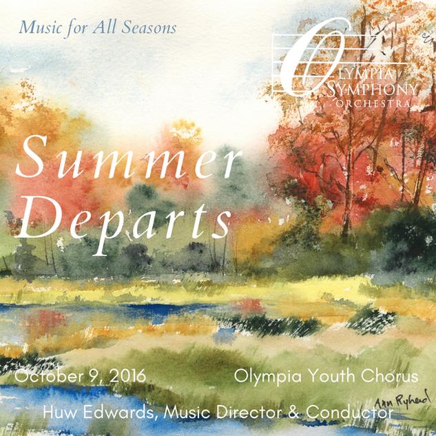 """Summer Departs"" | October 9, 2016"