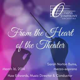 """""""From the Heart of the Theater""""   March 15, 2014"""