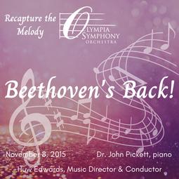 """Beethoven's Back!""   November 8, 2015"