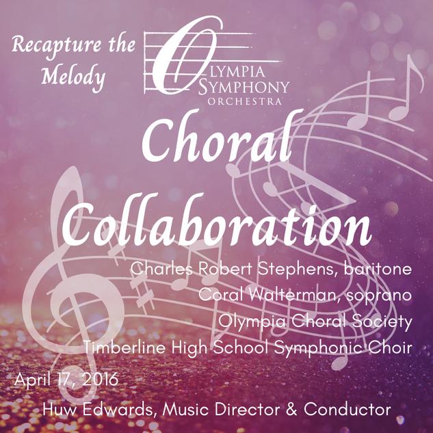 """Choral Collaboration"" | April 17, 2016"