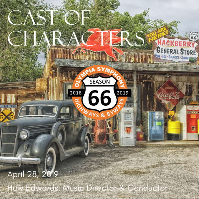 """""""Cast of Characters"""" 