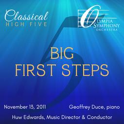 """""""Big First Steps""""   November 13, 2011"""