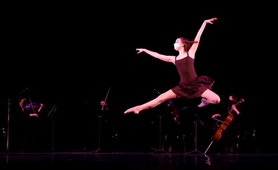 Ballet Northwest & Olympia Symphony Collaboration: At the Purchaser's Option (Rhiannon Giddens)  Photo Credit: Ballet Northwest / Julie Alonso; Washington Center for the Performing Arts