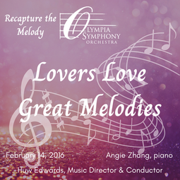 """""""Lovers Love Great Melodies""""   February 14, 2016"""