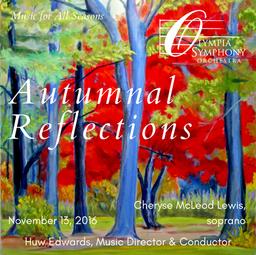 """""""Autumnal Reflections""""   November 13, 2016"""