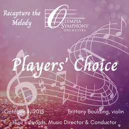 """Players' Choice""   October 4, 2015"