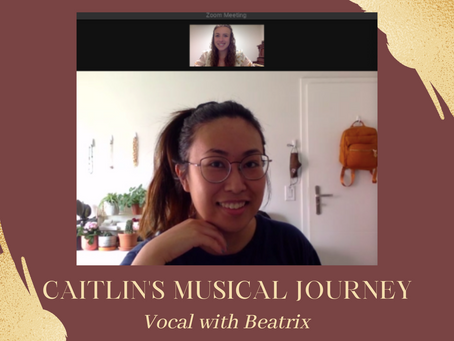 Caitlin's Musical Journey - Caitlin Learns Vocal with Beatrix!