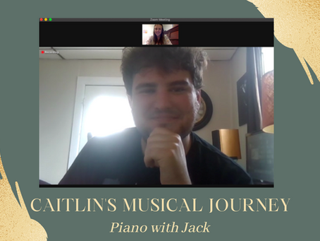 Caitlin's Musical Journey - Caitlin Learns Piano with Jack