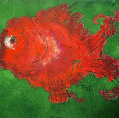 Funny Fish red