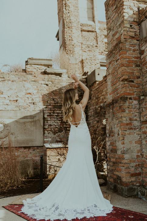 Simple Wedding Dresses   Bridal Galleria of Texas   San Antonio Bridal Shop