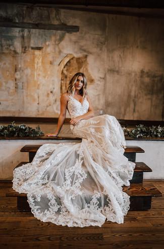 Essense of Australia | Lace Wedding Dress | San Antonio TX