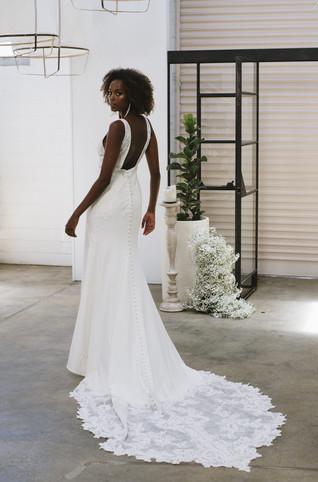 Crepe Wedding Dresses   San Antonio   Bridal Shop   San Antonio TX