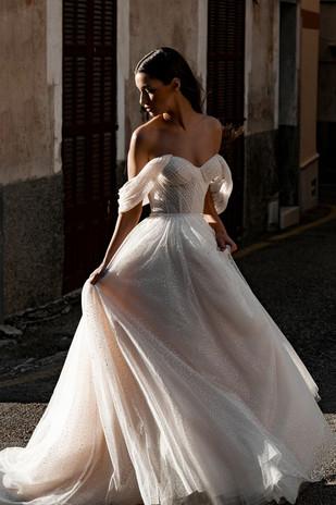 Off the Shoulder Wedding Dresses | Bridal Galleria of Texas | San Antonio Bridal Shop