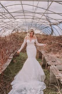 Off the Shoulder Mermaid Wedding Dresses | Bridal Galleria of Texas | San Antonio TX