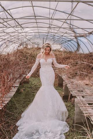 Off the Shoulder Mermaid Wedding Dresses   Bridal Galleria of Texas   San Antonio TX