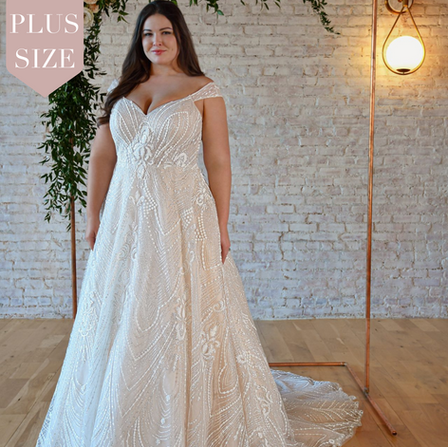 Plus Size Wedding Dresses | Bridal Galleria of Texas | San Antonio Bridal Shop