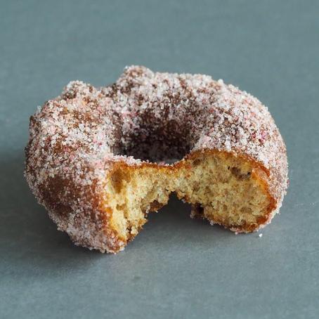 Kombucha donuts