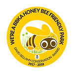 honey bee friendly park winner