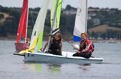 sailing on the fowey river