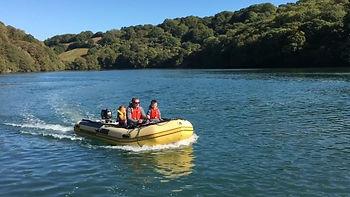 boat hire in fowey