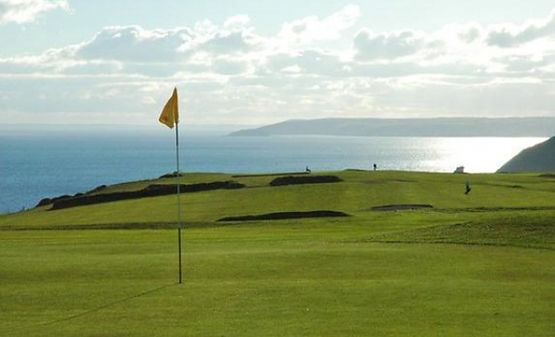 looe golf | looe | polruan holidays