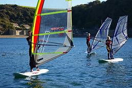 windsurfing fowey