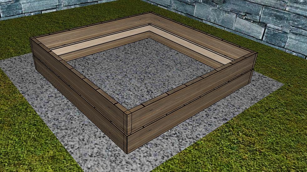 4ft x 4ft Original Raised Bed