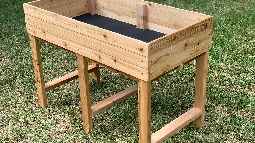 Elevated - 2' x 4' Gardening Bed