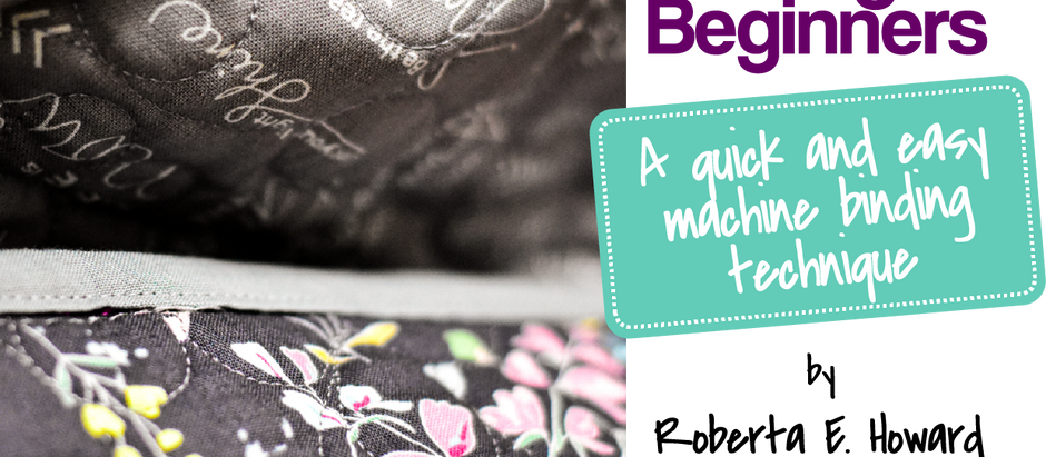 Quilt Binding for Beginners: How to Bind a Quilt