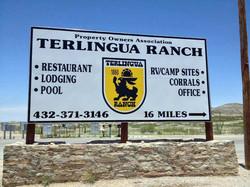TR Ranch sign