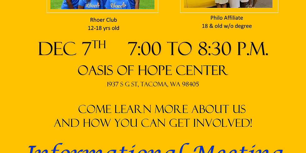 Philo and Rhoer Informational