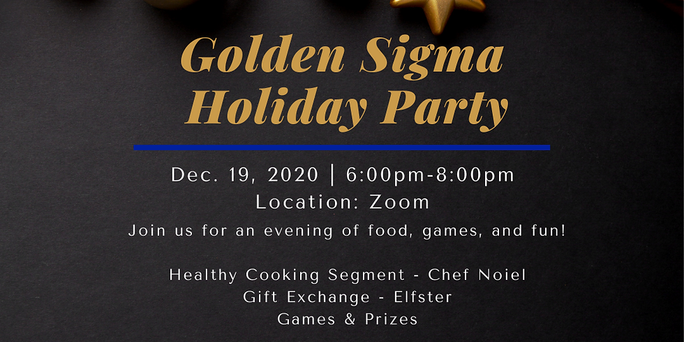 Golden Sigma Holiday Party