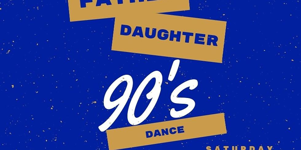 Zeta Phi Sigma Rhoer Club Father Daughter 90's Dance