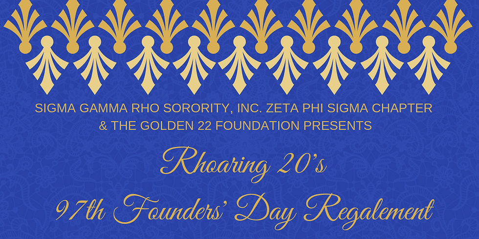 Rhoaring 20's 97th Founders' Day Regalement