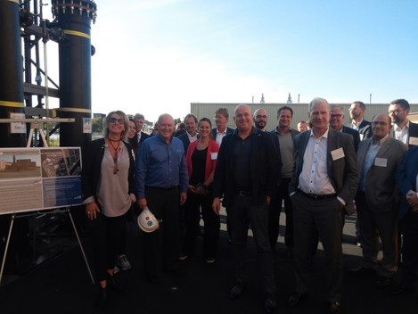 International Water Technology Cluster Delegation visits ETI's Gas Purification Pilot