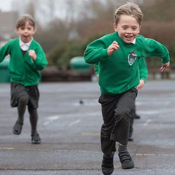 epsom primary school students running