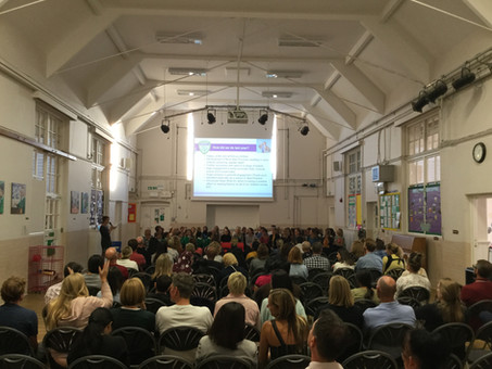 Fantastic turn out at our annual Welcome Evening