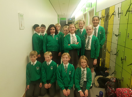 EPS compete at swimming gala