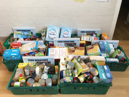 A great response for Food Bank Day!