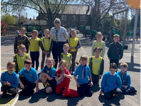 St George's Day at EPS