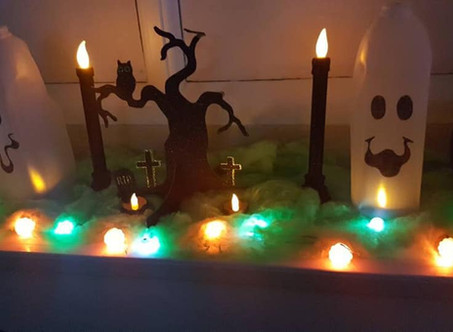 Spooky scenes for Halloween at EPS!