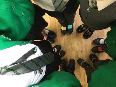 EPS take part in Odd Socks Day for Anti-Bullying Week!