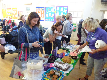 Friends & Family of EPS hosted a Macmillan Coffee Morning!