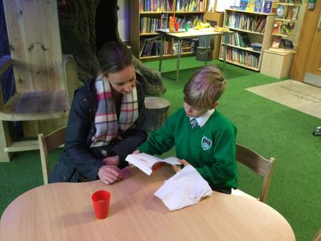 Year 6 Reading Cafe!