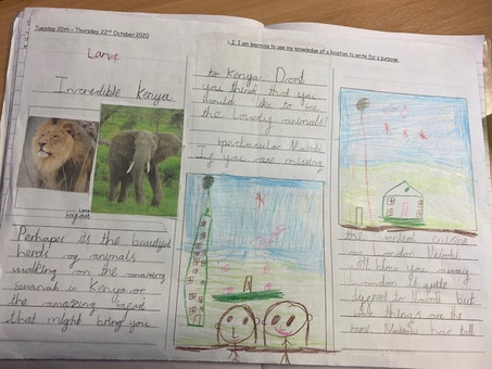 Year 2 create amazing leaflets using persuasive language